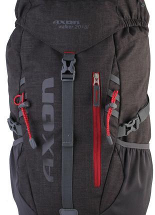 Рюкзак S807025 Axon Walker 20 плюс 8L Black