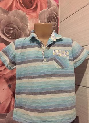 Легкое ,стильное поло - футболка, baby shop