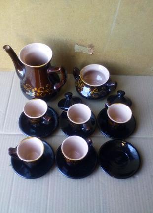 Кофейный набор СССР (кустарное производство)