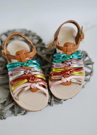 Классные яркие босоножки сандали primark
