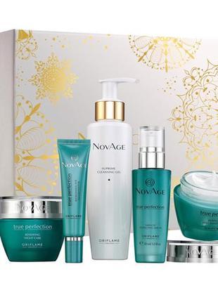 Комплексный уход для лица совершенства кожи novage true perfec...