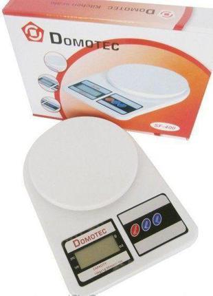 Весы кухонные электронные с LCD дисплеем Domotec. ТОЧНЫЕ!