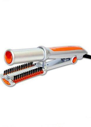 Утюжок-плойка для волос startex та-674 (2 в 1)