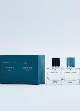 Парфюмированная мужская вода. набор. vibrant leather +vibrant ...