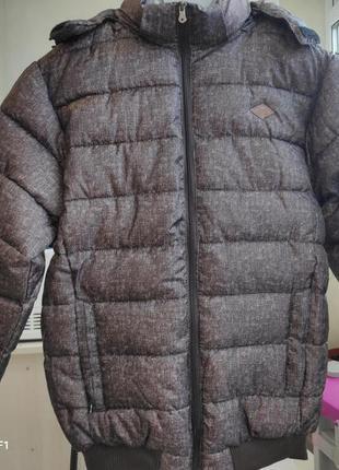 Новая фирменная очень теплая зимняя куртка lee cooper! шаровая...