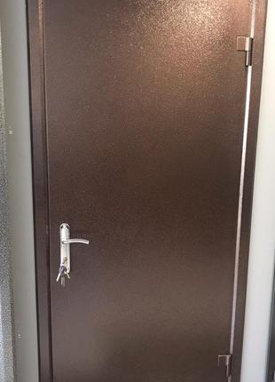 Входная металлическая дверь!