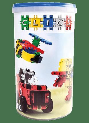 Детский конструктор Clics 5 в 1 - 69 элементов