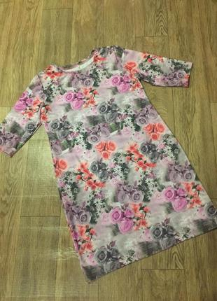 Платье  прелесть-роза !р 54