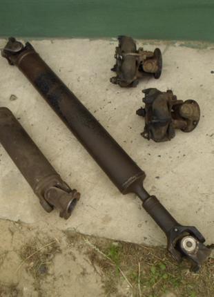 Промвал проміжний вал кардани передній і задній ваз 2121 Нива