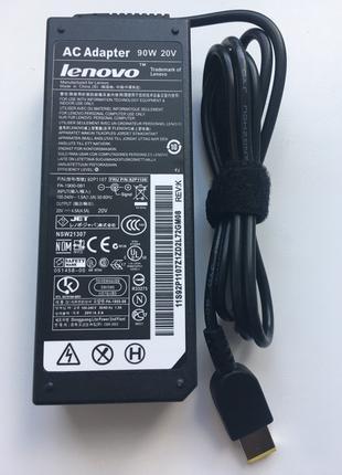 Зарядка,Блок питания для ноутбука Lenovo 20V 4.5A 90W Usb pin