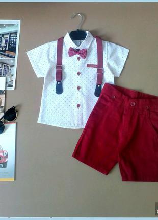 Нарядный костюм для мальчика на 1-4 года