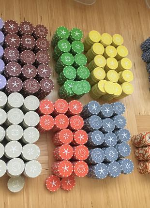 игровые фишки-цвет,для фанказино,праздники,корпоративы,дни рожден
