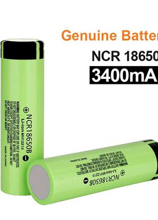 Аккумулятор 18650 Li-ion Panasonic 3400mAh NCR18650B