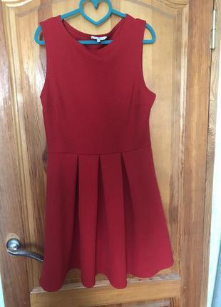 Стильное красное платье от new look