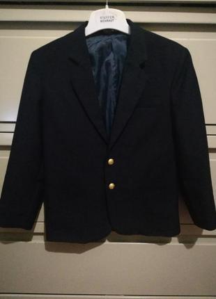 260 темно-синий пиджак