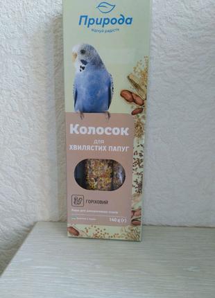 Колосок для волнистого попугая / палочки для волнистых попугаев