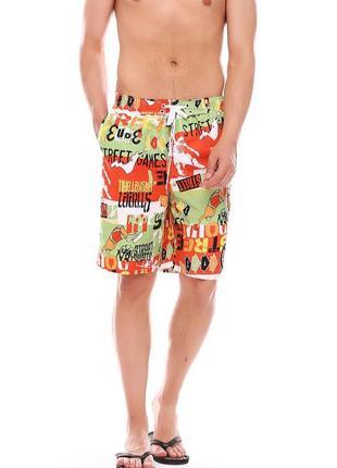 Яркие мужские летние, пляжные шорты,шорты для купания