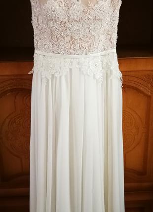 """Свадебное платье""""Teyla""""."""
