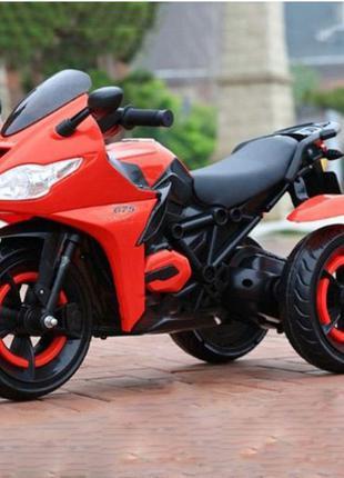 Электромобиль Мотоцикл Фары и колеса светятся, 5 км/ч