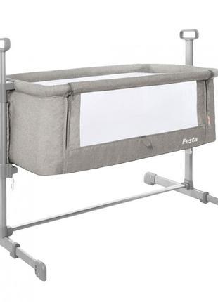 Приставная Кроватка-люлька Кровать для новорожденного CARRELLO...