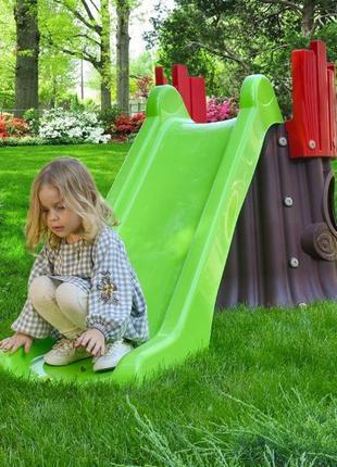 Детская пластиковая Горка TREE HOUSE