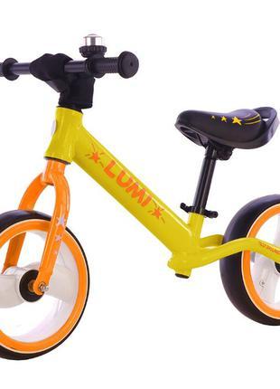 Детский Беговел BALANCE Lumi свет колес, 12 дюймов от 2-5 лет