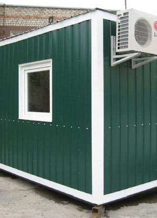 Строительные бытовки, дачные домики, модульные строения