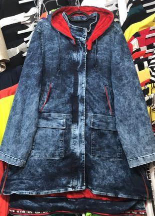 Куртка джинсовая женская демисезонная
