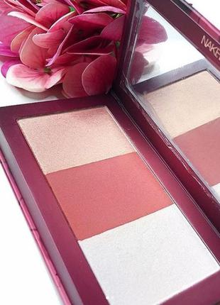 Urban decay naked cherry highlight and blush palette палетка х...
