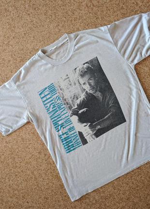 Винтажная футболка мерч bruce springsteen tunnel of love expre...
