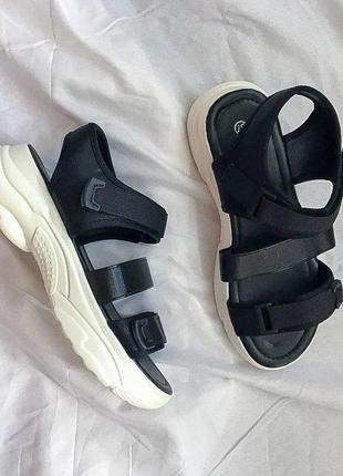 Женские босоножки no brand ◈ сандалии ◈ черного цвета 😍