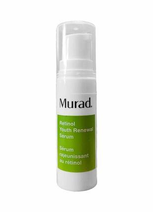 Омолаживающая сыворотка с ретинолом murad retinol youth renewa...