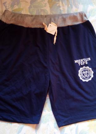 Тёмно синие мужские шорты