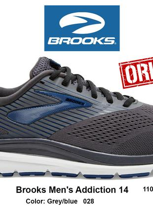Кроссовки Brooks Mens Addiction 14 original 44.5EU 110317 028