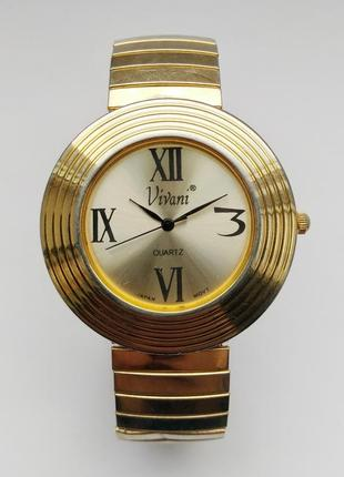 Vivani by accutime часы из сша мех japan