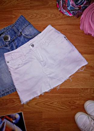 Женская джинсовая молодежная трендовая юбка papaya - размер 42