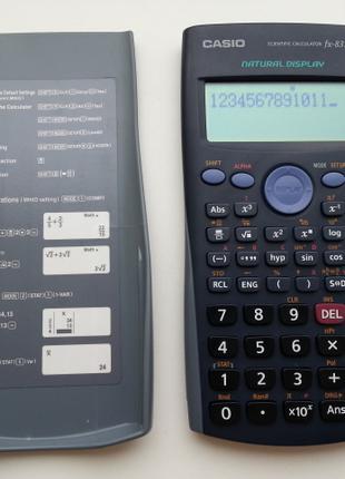 Научно-инженерный калькулятор CASIO.