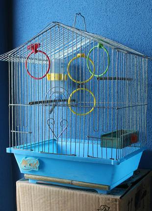 Клетка для Птиц (39x34x26 см)