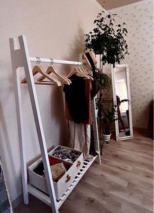 Стойка напольная для одежды  гардероб Киев