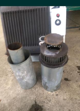 Конвектор газовый, чугунный