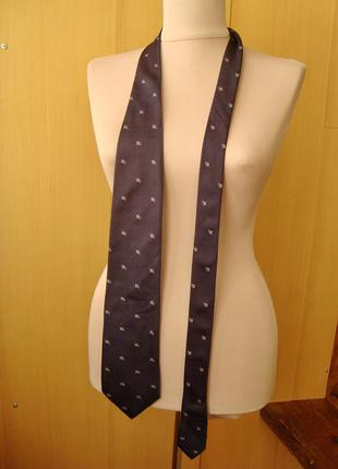 Burberry, шелк, оригинал, галстук.