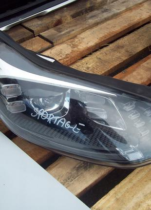Фара передняя правая ксенон би-ксенон xenon KIA Sportage 4 IV QL