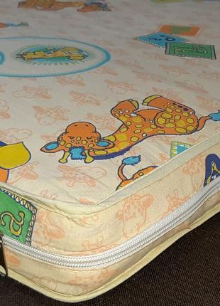Продам матрас кокос (5 слойный) в детскую кроватку (до 8 лет) б/у