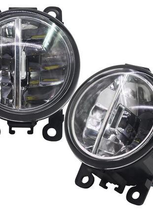 Противотуманная мощная LED фара(комплект)  ДХО