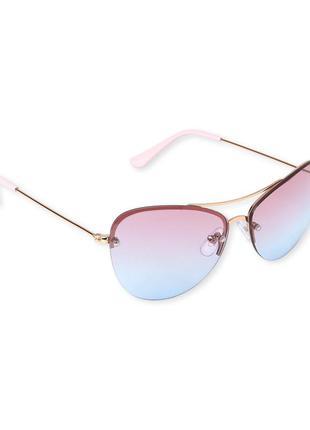 Очень стильные качественные солнцезащитные очки девочке