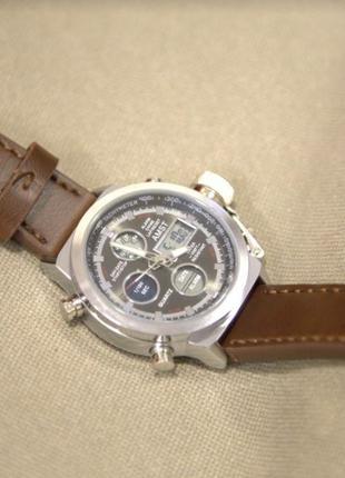 Мужские наручные часы Amst 3003 армейские оригинал