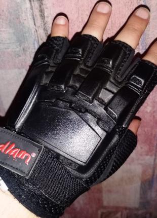 Тактические перчатки без пальцев Bedlam