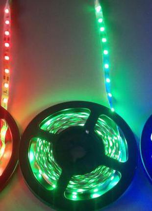 Светодиодная лента 5м разные цвета