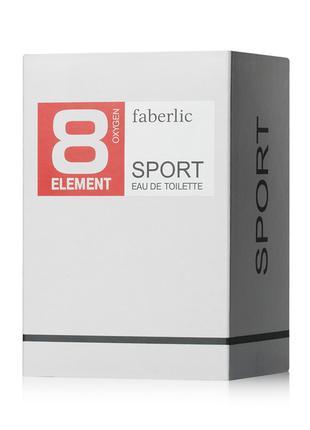 Туалетная вода для мужчин 8 Element Sport Элемент Фаберлик 35мл