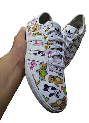 Эксклюзивные мужские кеды кроссовки adidas jeremy scott bear p...